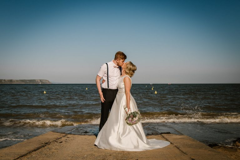 When Charlie Met Hannah Oxwich Bay Gower wedding 3